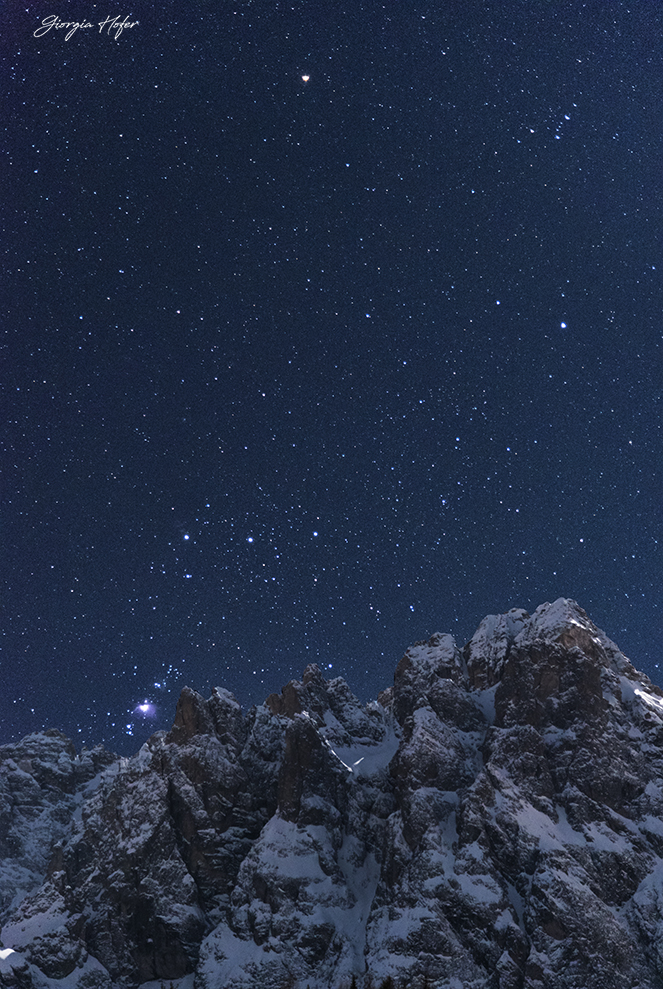 Orione e Croda Bianca