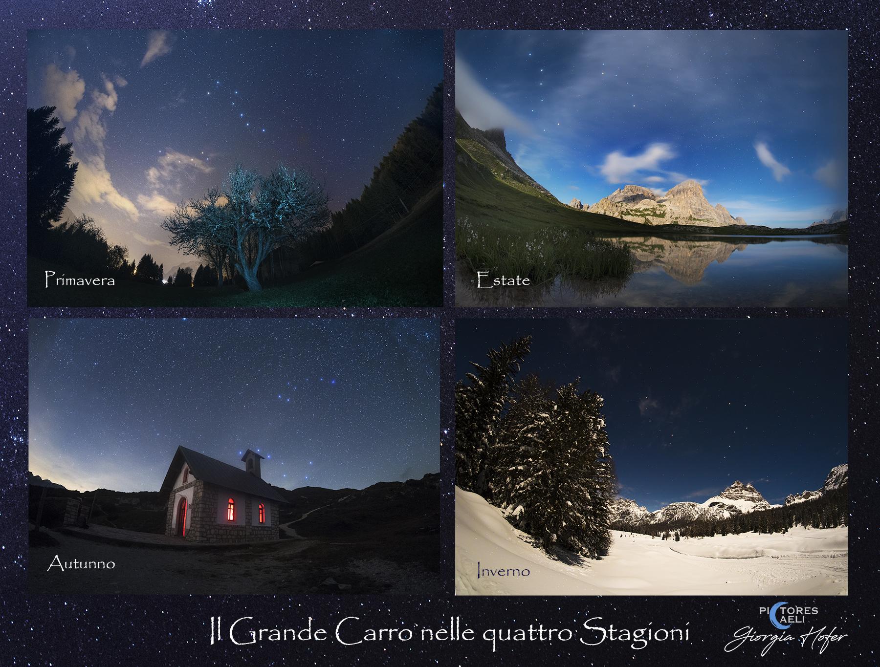 composizione 4 stagioni italiano firma p