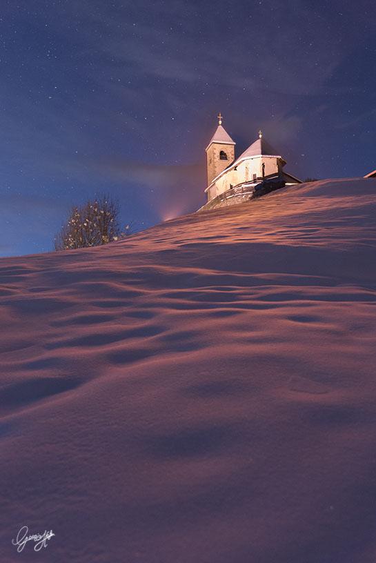 San Leonardo tramonto