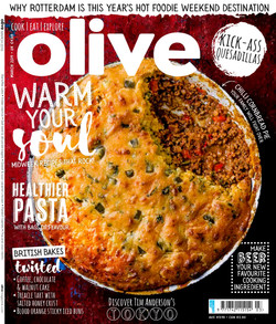 Olive March Cover