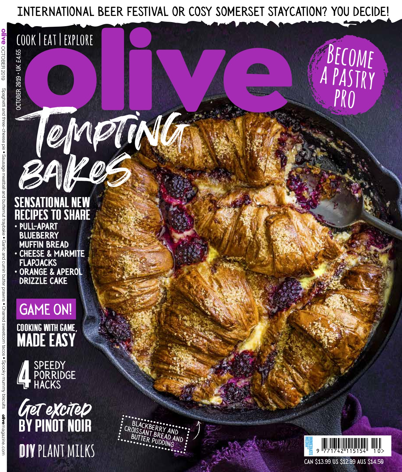 Olive October Cover