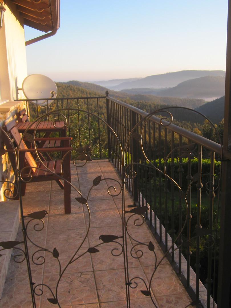 Studio 2 Balcony view