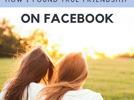 My Bluebonnet Bosom Buddy: How I Found True Friendship on Facebook