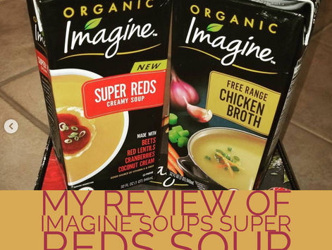 My Review of Imagine Soups Super Reds