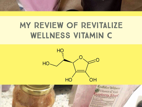 My Review of Revitalize Wellness Vitamin C