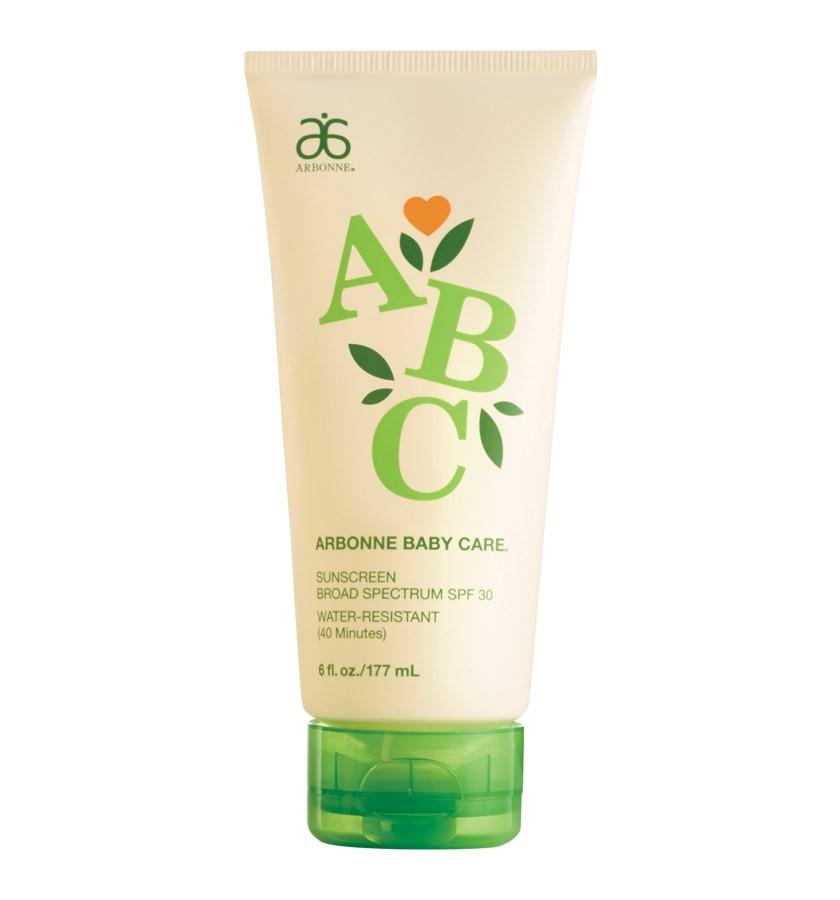 ABC Arbonne Baby Care Sunscreen
