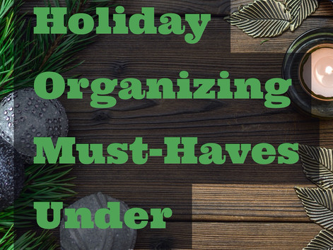 20 Holiday Organizing Must-Haves Under $20