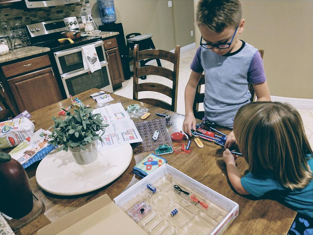 STEM-in-the-homeschool