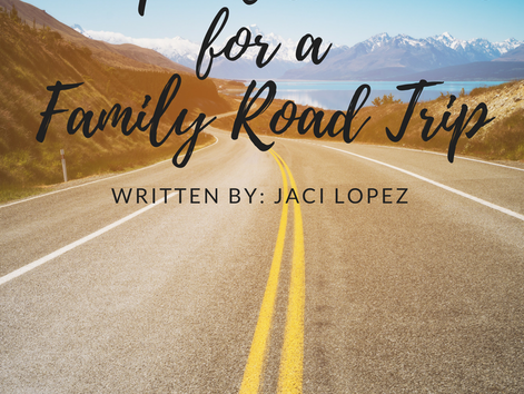 Tuesday Takeover: 15 Top Must-Haves for a Family Road Trip