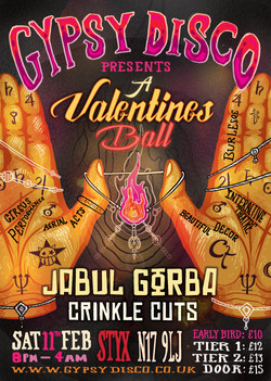 Gypsy Disco Valentines Ball