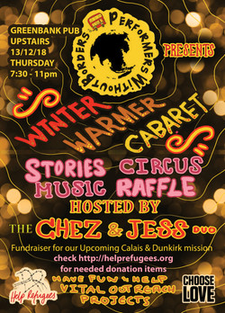 winter warmer cabaret