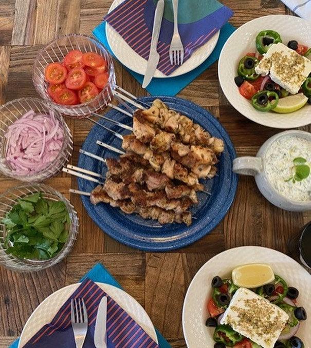 ギリシャ流BBQ&ギロピタ