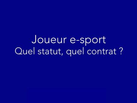 Joueur Esport — Quel statut en Belgique et en France ?