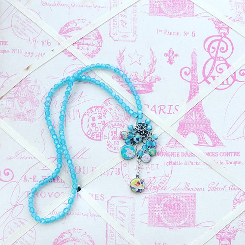 Litchi Blue Necklace