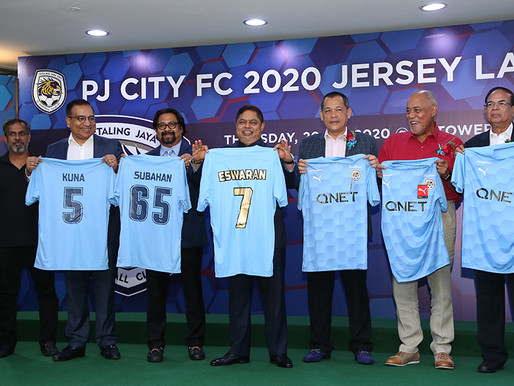 PJ City FC unveils New Football Inspired Home and Away Kit