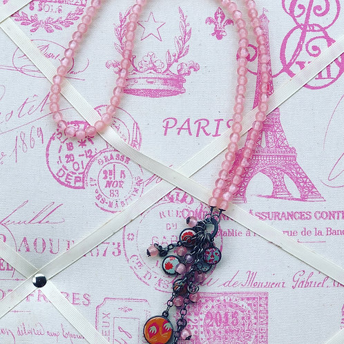 Litchi Pink Necklace