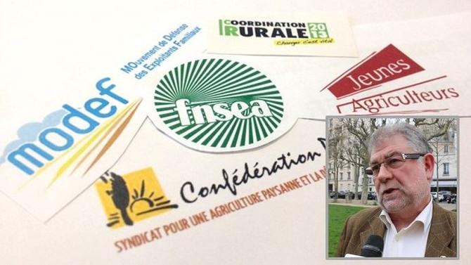 Une plateforme de projets commune aux quatre syndicats agricoles ?