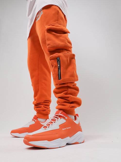"""Calm"" Cargo Sweatpants"