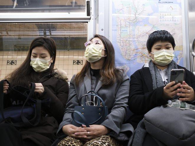 Masks on the Subway