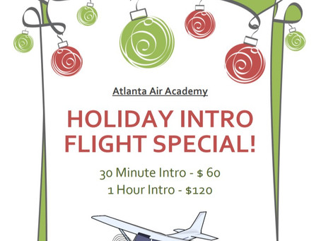 Holiday Intro Flight Special