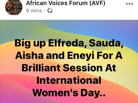 International Women's Day 2020 AVF 'Women in Leadership'