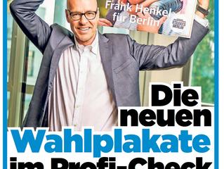 BPA in BILD und BZ: Analyse der großen Wahlplakate für die Berliner Wahlen im September