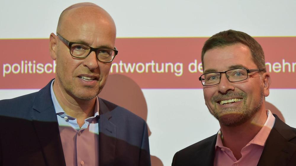 Dr. Johannes Bohnen und Jan-Phillip Görtz (BKU)
