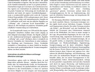 Artikel in Zeitschrift für Politikberatung veröffentlicht: Warum Unternehmen sich offen politisch po