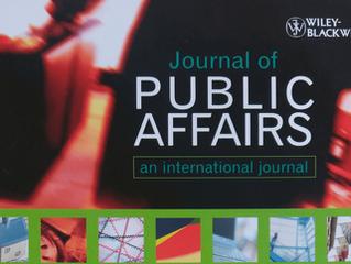 Der Business Case von politischer Nachhaltigkeit - Bohnen und Hennies im Journal of Public Affairs