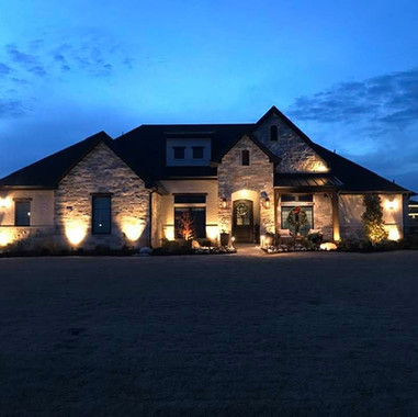 Dallas Outdoor Lighting great home exter