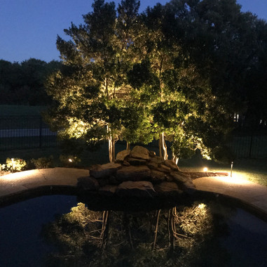 Landscape Lighting by NightSculptures Ou
