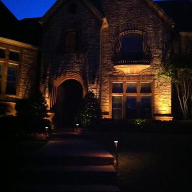 Dallas Landscape Lighting Home Exteriors