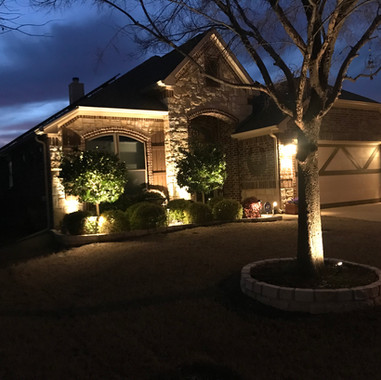 Outdoor Lighting Dallas and Forth Worth