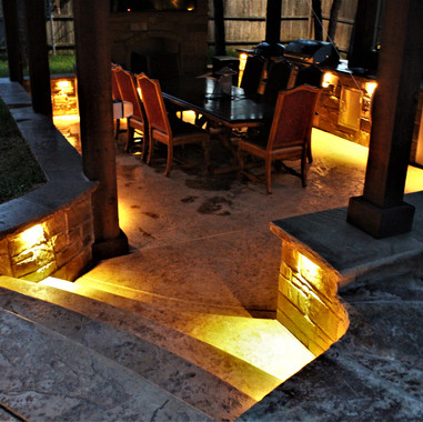 dallas pergola lighting by NightSculptur