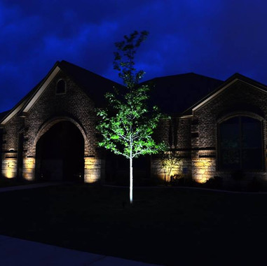 Dallas Landscape Lighting Home Exteriors
