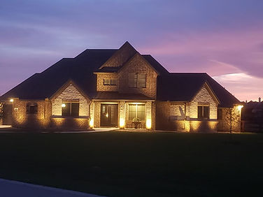 Dallas outdoor lighting by NightSculptur