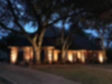 Dallas outdoor lighting exterior lightin
