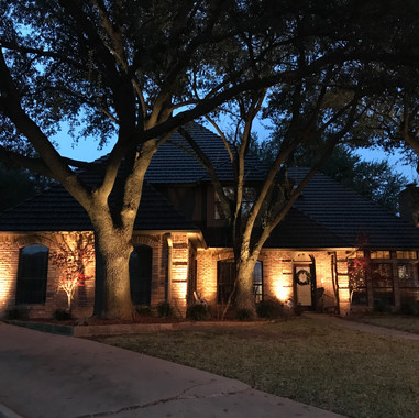 Dallas outdoor lighting exterior lightin
