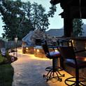 dallas pool and pergola lighting by Nigh