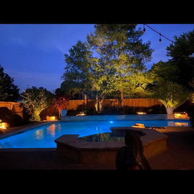 Fort worth landscape lighting by nightsc