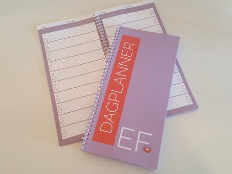 De EF-Dagplanner is binnen!!