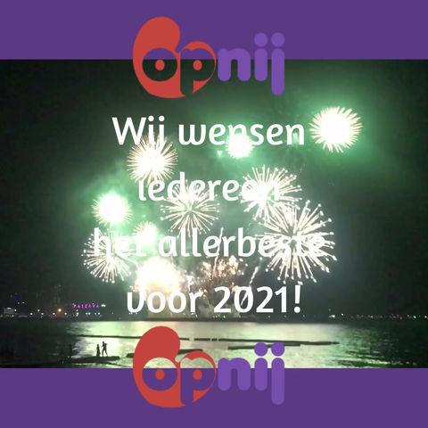 De beste wensen voor 2021!