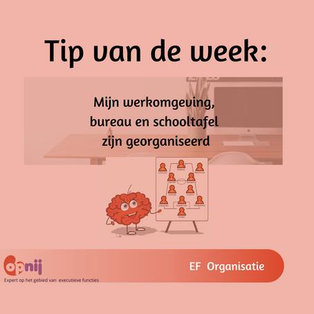 Tip van de week (week 1)