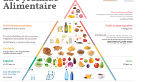 La toute nouvelle pyramide alimentaire 2020: plus équilibrée et plus durable