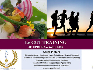 Conférence sur les troubles digestifs chez les sportifs - Journée d'étude annuelle des  diététic
