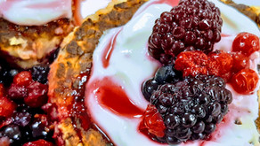 Pancake flocon d'avoine et fruits