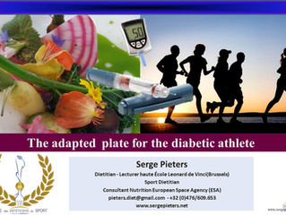 The adapted plate for the diabetic athlete
