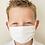 Thumbnail: Masques enfant blancs 120 lavages dès 25 pcs