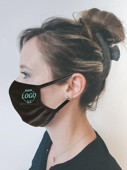 Masques noirs 120 lavages dès 25 pcs