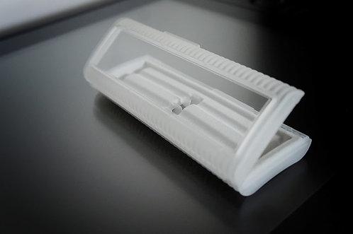 Ecrin PVC vide pour 2 stylos
